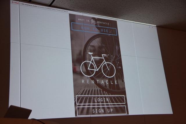 いずれも完成度の高い作品ばかり(写真は個人間自転車レンタルサービスRENTACLE)。