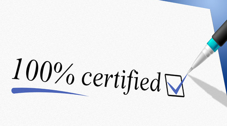 100%certified