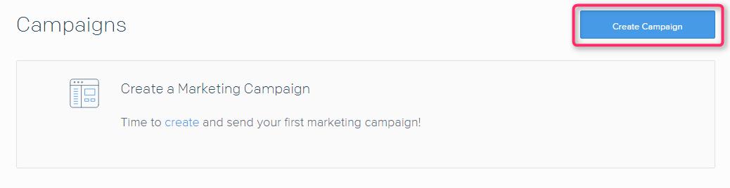 Campaignsページ