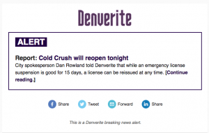 Denverite Breaking News