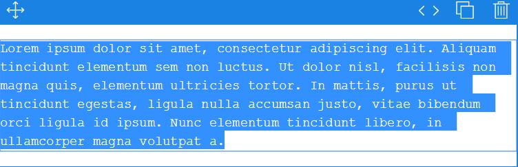 Textモジュールの内容を削除