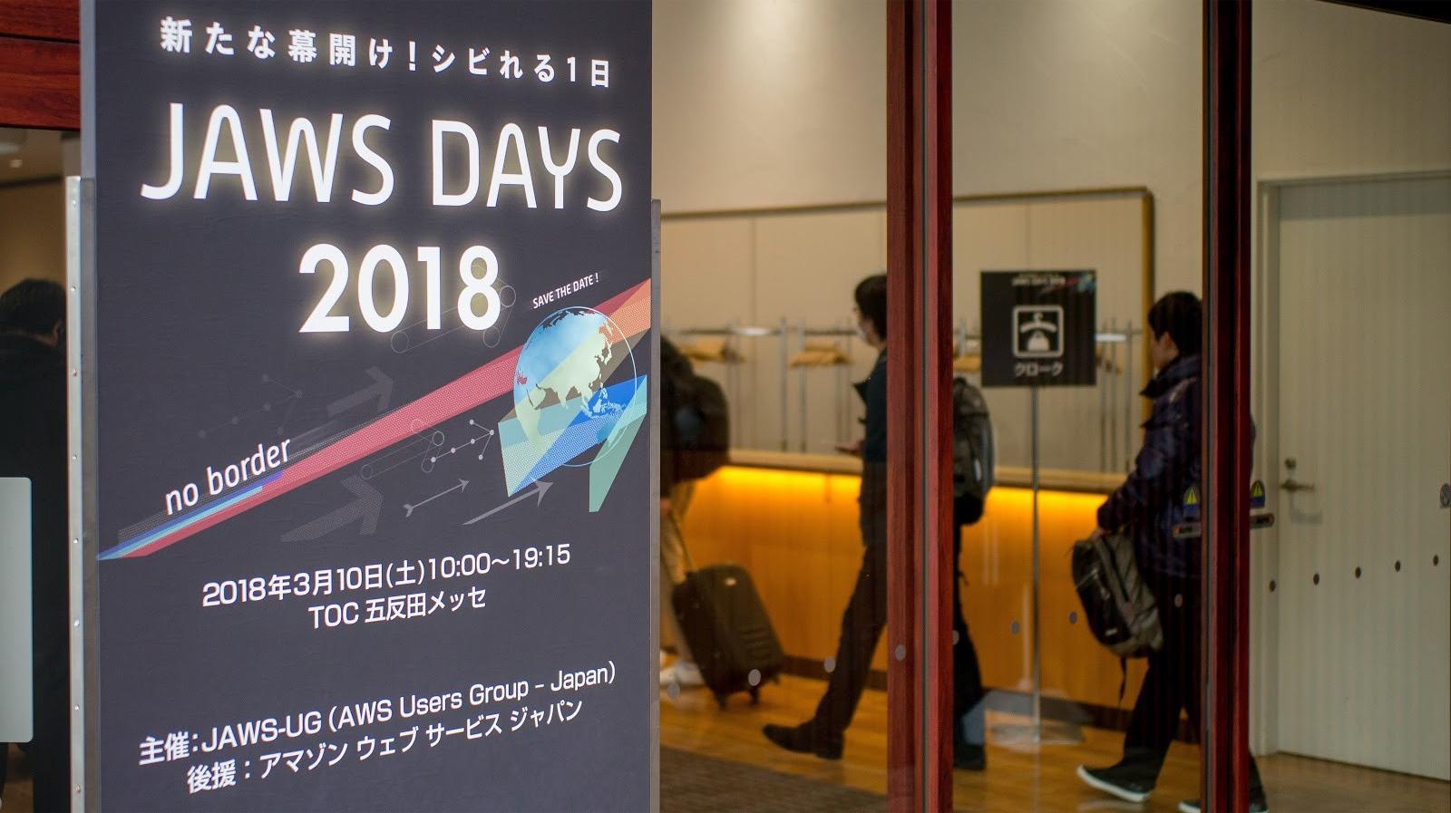 JAWS DAYS 2018