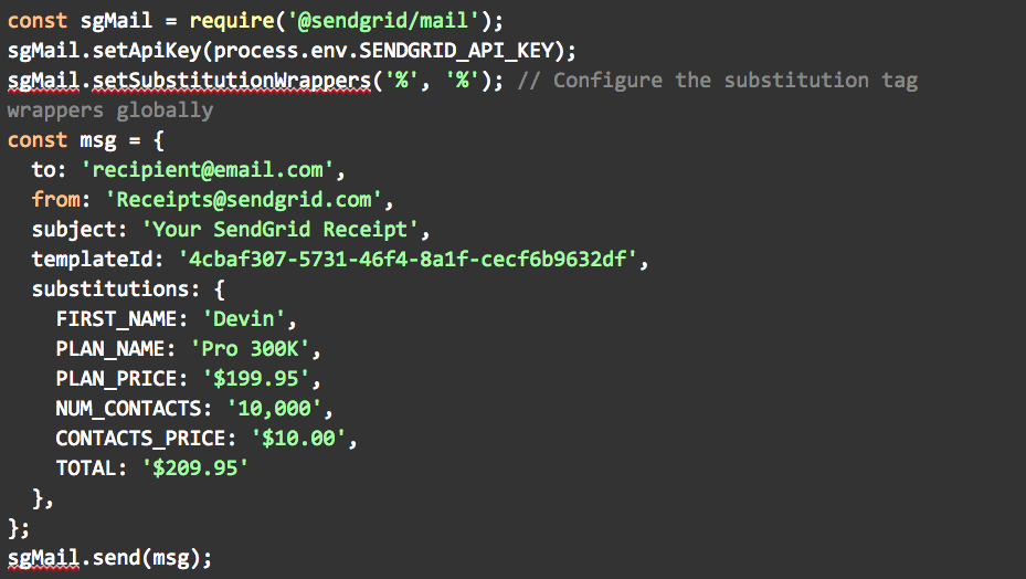 APIのリクエスト