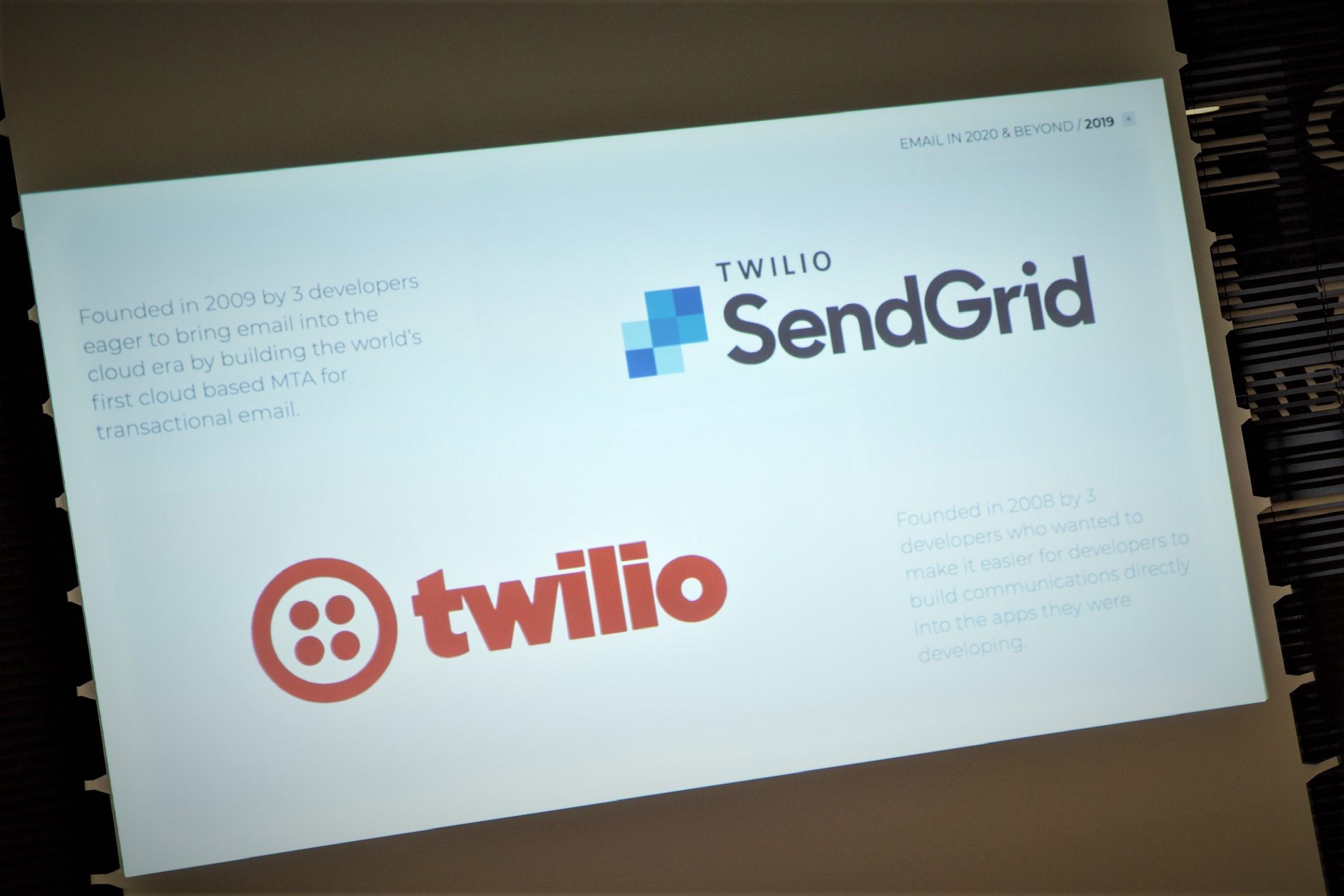 SendGridとTwilio
