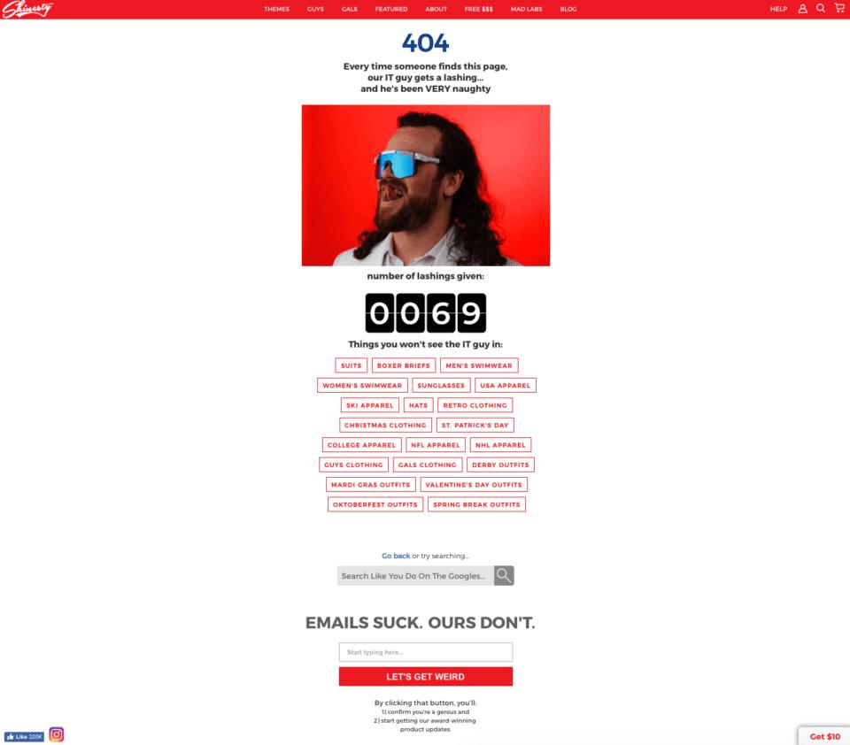 404ページを最大限に活用する