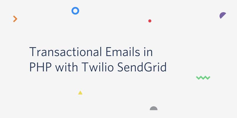 PHPからSendGridを使ってトランザクションメールを送信する方法