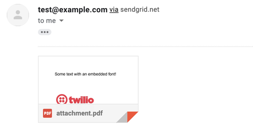 testメール