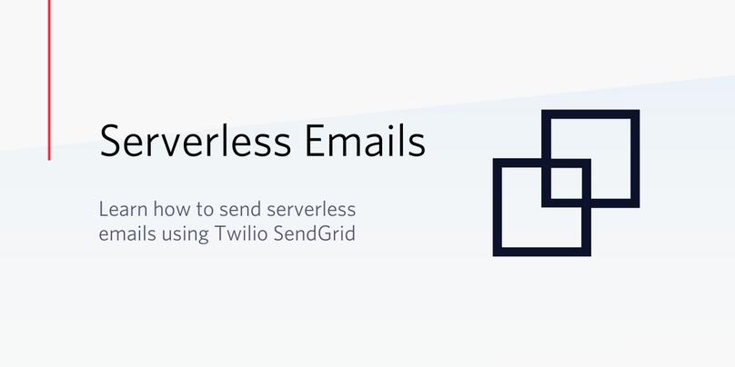 SendGridとTwilio Functionsを利用したサーバレス環境からのメール送信